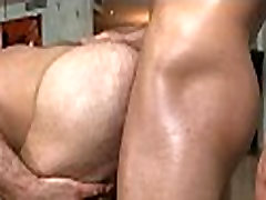 Sucking firm powerful cock
