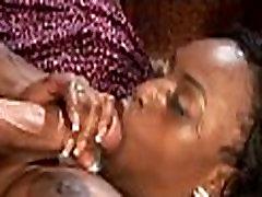 Voluptuous Ebony Double Dicked
