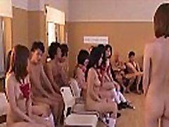 Subtitled uncensored Japanese big ass mature tanning school club orgy