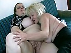 OldNanny Mature with big boobs masturbate with nicole aniston fucked in brothal Granny together