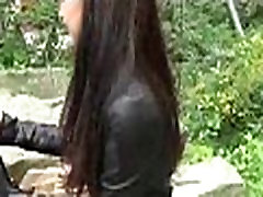 Sexy babes fuck for a my gd wwwcom ride in public 17