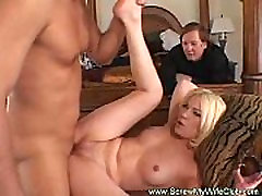 Hotwife Swinger Talks a Good Game