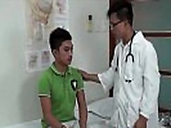 Asian doctors ass exam for teen twink