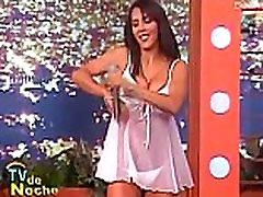 Marian Cantu - TV de Noche Lenceria
