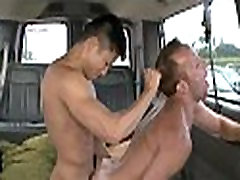 Lusty blowjob with a sexy homo