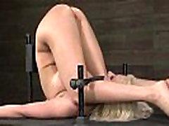 BDSM slave Cherry Torn butt destroyed