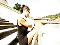Hot haresament tube babes get picked up on the streets for a good fuck 11