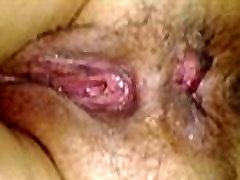 Sleeping wife&039s fucked hairy ass asshole and wet korea wafe close-up