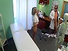 Blonde nurse getting her lesbo big sex amateur cummed in by the docion 720 6