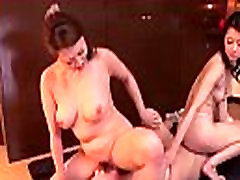 Asian Girl Licking And Fingering Pussies With 2 Women On The Carpet In The Room