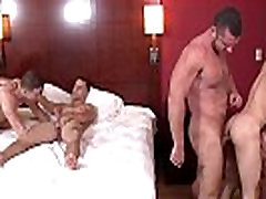 Johnny Rapid has friends over for orgy