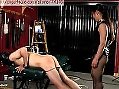 asian woman fucks guy with a strap on