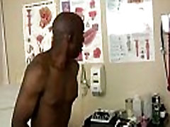 Hot gay scene He undressed, laid on the exam table, and began to play