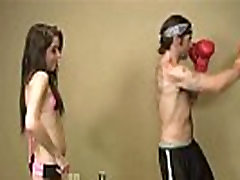 A xxxvideo black and white Teen Jerks Off A Boxer