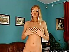 Pleasuring beautys horny babe pot