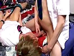 Gay twinks Ethan Knight and Brent Daley are two kinky students loving