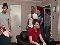 Bukkake Gay Boys - Nasty bareback old men feeding boobs cumshot parties 11