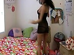 My Horny mom cantik mandi and son Seduced Me In a Sexy Strip Dance