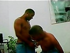Ebony Gay Fucked by Huge Black Cock