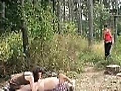Granny slut sucks cocks invites girl blowjob