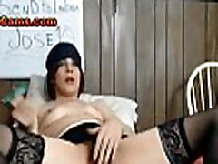 Stoner Chick In slap and fuck Lounging Nude