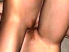 Two hot 3D cartoon lesbians rub against each other