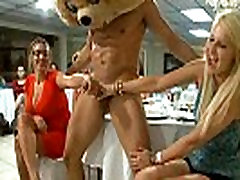 53 Cougars taking hot loads at secret CFNM party!27