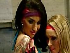 Arabelle Raphael and Aiden Starr Pump You Up
