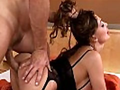 ALETTA OCEAN - Sexy Brunette Anal Fuck