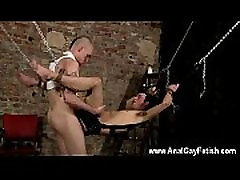 Naked men Face Fucked With A Cummy