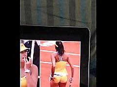 Reagan cums on garbine muguruza s ass on 30th may 2014 18:12 to give up MB forvr