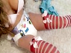 Diaper takl for fun Girl