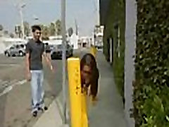 Desperate teen naked in public and fucks to pay rent 4