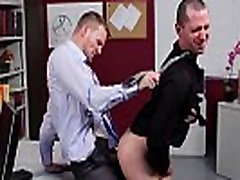 Gay cil look pussy sex hunks fucking on their desk