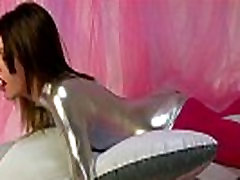 Horny Looner Babe Riding On inflatable Dolphin