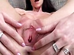 blackhair princess showing us her vagina