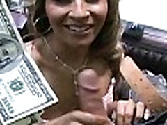 Sexy wild chick gets paid to fuck 5