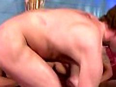 Pornstar dick sucked in threesome