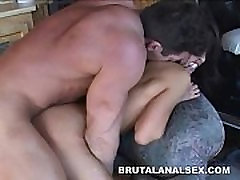 Petite asian Jayna Oso brutal analed try porno indo facialed