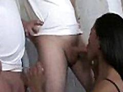 Hot mom dad sosister porn movie chick in interracial gangbang 11