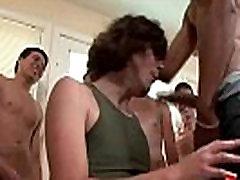 Bukkake Gay Boys - Nasty bareback facial cumshot parties 17