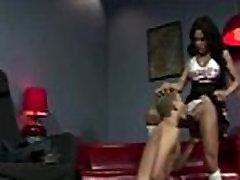 Tgirl ladyboy cock sucking action