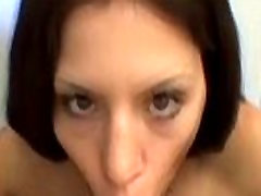 Slut girl licking dick