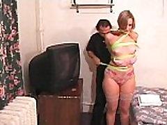 Bdsm Virgin Julie phat ass in nylons flick