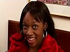 Black young girl fingered