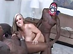 Dayna Vendetta Fucked by Black gangbang and cum
