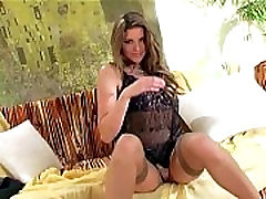 Shaved xxx hd musalmani thigh high stockings and panties