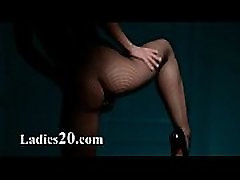 Luxury babe tease in pantyhose