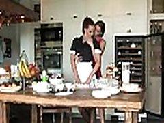 Lesbian Seduces her Maid - Viv Thomas HD