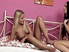 Horny babe Emma eats sweet pussy